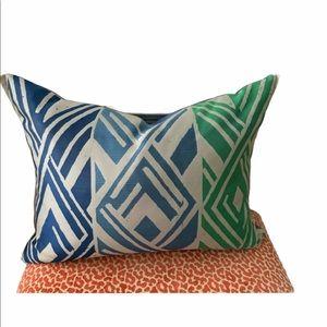 NWOT Designers Guild Geometric Design Pillow
